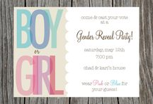 Gender reveal  / by Lacey Pack