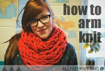 How to Knit: Free Knitting Tutorials / Learn how to knit with a helpful knitting tutorial for beginners. Peruse our collection of free video tutorials, step by step knitting tutorials, basic knitting techniques, easy knitting tips, and more.