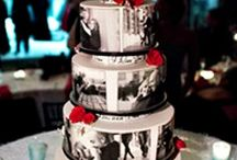 Wedding Cakes with Edible Images