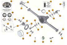 Cherokee XJ Parts Diagrams / by Morris4x4Center.com