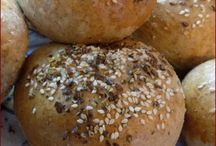 Chleba, bulky, rohlíky