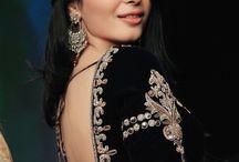Aari work designs on blouses / My board is about aari and zardosi embroidery works