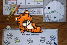 Kindergarten Literacy Resources / Literacy resources and ideas for kindergarten- letters, sounds, phonics, sight words, word study, and more