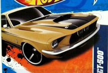 Ford Mustang Gold Shelby GT 500