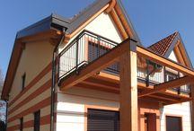 Villette a Cologno al Serio (BG) / Villette in legno a Cologno  al Serio (BG) www.marlegno.it