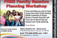 DeKalb County Family Reunions / Family Reunions are More Fun in Atlanta's DeKalb County!  Family reunions are as much fun as they are work. You never seem to have enough time or help to do what you really want to do to ensure your reunion creates a lifetime of great memories.  Atlanta's DeKalb County hosts free Reunion Planning Workshops that can make your event a lot simpler and lots of fun.   http://Facebook.com/DeKalbCountyFamilyReunions