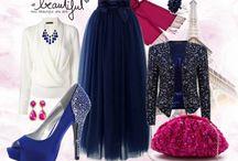 Fashion Hijab: Blue