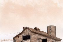 Barns / by Janice Rosenburg