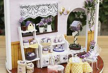 Miniature - Roomboxes and displays / by Rita G
