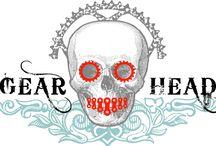 'Gearhead' T shirt design