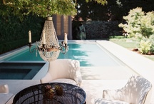 Decor: Pools, Patios & Outdoor Rooms / Patios, Conservatories, Outdoor Rooms / by SANDY M ILLUSTRATION