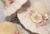 şapka dantelli