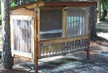 Repurposing the old drop side crib..