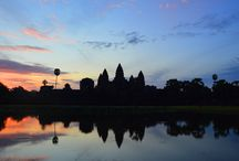 Angkor Archaeological Park, Cambodia / The ancient Buddhist and Hindu temples including Angkor Wat.