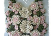 crochet flowers and......