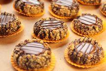 Çikolatalı ve karamelli kek
