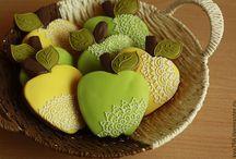 Печенье фрукты и овощи