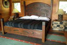 Northwest Coast Style Beds