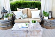 Outdoor Living Spaces / Stylish patio furniture & outdoor designs
