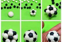 minge fotbal fondant