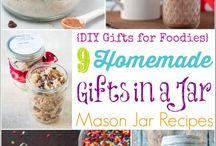 In a jar / Gifts in a mason jar
