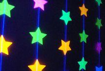 Neon blacklight party