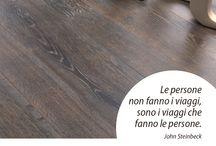 Wood&Quotes / La sensorialità del #legno e del #parquet reinterpretata attraverso #aforismi e citazioni.
