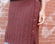 Вязание : юбки