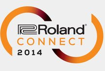 Roland CONNECT - January 2014 / List of new music products by Roland to be on display at NAMM 2014.
