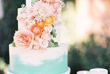 Sarah's Peaches and Green Wedding