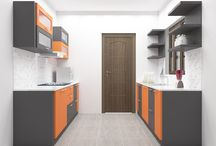 Parallel Kitchen Designs Online / Design your own Parallel Plywood Modular Kitchen Layouts for Small & Indian homes which looks best with our Experts. Get Pictures, Ideas & Price list.