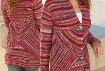 Drops Design Cardigan Knit Jacket