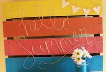 CCB Summer Fun / Bright, hot, summer themed projects for your enjoyment from the Canvas Corp Brands Creative Crew. Canvas Corp, 7gypsies, Tattered Angels