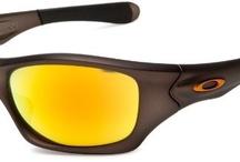 Oakley Men's Pit Bull Sunglasses,Gunmetal Frame/Fire Iridium Lens,one size