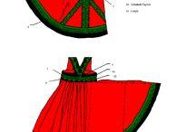 Крой старинной русской одежды