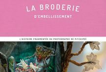 BRODERIE D'EMBELLISSEMENT / Livre de Léa Stansal parution avril 2017