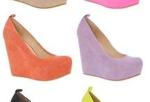 shoes and colours