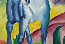 Franz Marc. Ruled journals / Ruled/ lined journals. Cover images: paintings by Franz Marc