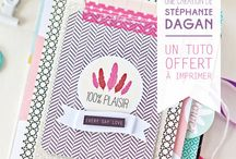 Petits papiers / Papeterie, typographie, graphisme, printables
