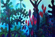 Intuitive Painting / Brave free colorful intuition!