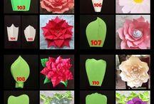 pola paper flower