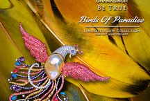 Birds Of Paradise / Be True Jewels inspired by the exotic Birds Of Paradise