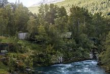 Åsebu / Project creating a nature camp / bed & breakfast at our family cabin / by Cecilie Dawes