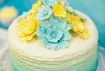 Casamento Azul e Amarelo
