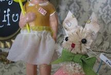 My Little Creations ( Mae's Closet) / Handmade vintage-style goodies  / by Elizabeth Isom
