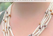 Crochet Jewelry / Free Crochet Patterns of Jewelry