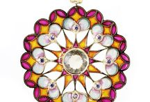 Mandalas / This unique line of jewelry represents the connection between the sacred and the earthly world. Mandalas are legendary oracles, related with sacred geometry that help to meditate and armonize chakras. Their colors have a positive effect on the behaviour and thoughts of the people that wear them.