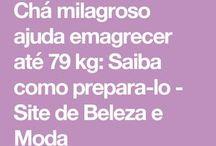 CHÁ MILAGROSO