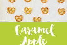 Caramel apples and other dessert ideas