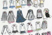 Рисование одежды